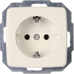 Kopp Einsatz Steckdose RIVO Reinweiß 945017080
