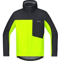 Gore Wear C3 Gore-Tex Paclite Kapuzenjacke neon yellow/black M