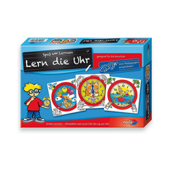 Noris Lernspielzeug Lern die Uhr