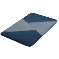 Kleine Wolke Kleine Wolke, Höhe 20 mm, rutschhemmend beschichtet, fußbodenheizungsgeeignet blau rechteckig - 80 cm