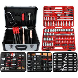 FAMEX Werkzeugset 716-21, (Set, 174-St), im Werkzeugkoffer