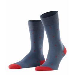 FALKE Socken Dot (1-Paar) mit hoher Farbbrillianz blau 43-46