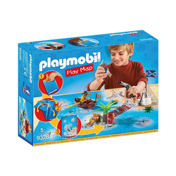 Playmobil® Spielfigur PLAYMOBIL® 9328 Play Map Piraten