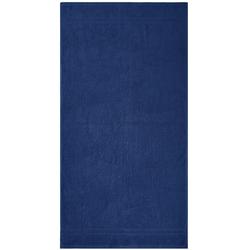 Dyckhoff Badetuch ''Kristall'' Marine - Blau 100 x 150 cm