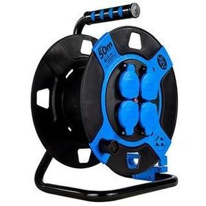 REV Leertrommel, Kunststoff, 4-fach, IP 44, Blau (0010110812)