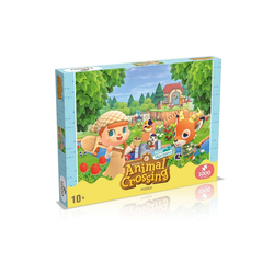 Winning Moves Steckpuzzle Puzzle Animal Crossing 1000 Teile, 1000 Puzzleteile