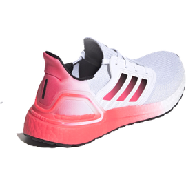 adidas Ultraboost 20 M cloud white/core black/signal pink/coral 43 1/3
