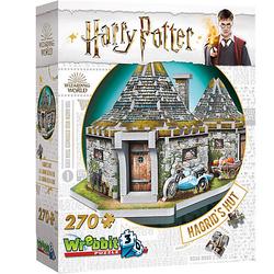 3D-Puzzle Hagrids Hütte - Harry Potter, 270 Teile