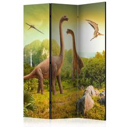 Parawan 3-częściowy - Dinozaury