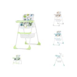 Chipolino Hochstuhl Hochstuhl 2 in 1 Regalo Hochstuhl und Kinderstuhl, Höhe verstellbar grün