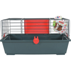 ZOLUX Käfig für Kleintiere 58 cm rot