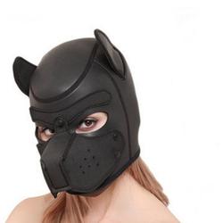 Sandritas Erotik-Maske Hundemaske Bondagemaske Dogplay Petplay Maske Hund Bondage BDSM SM
