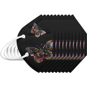 5/10/20/50 Stück Erwachsene Einweg 5-lagig Atmungsaktiv Outdoor, fein-Drucken Mund und Nasenschutz 2021,3D Unterstützung Design, Haus, Schule, Outdoor-Essentials- SilenceID- MR-67