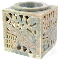Guru-Shop Duftlampe Indische Duftlampe, ätherisches Öl Diffusor,.. 7.5 cm x 7.5 cm x 7.5 cm
