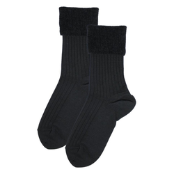 Rogo Socken (1-Paar) mit weichem Chenillerand 39/42