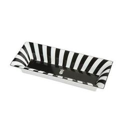 Goebel Schale Stripes - Chateau Black and White