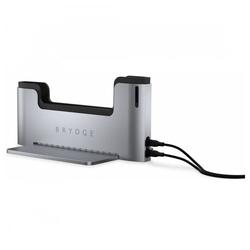 BRYDGE Tablet-Dockingstation Docking Station 15 - 5000 MB/s - für Apple MacBook - silber