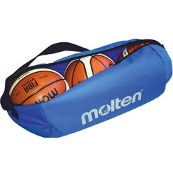Molten® Balltasche, Blau, Nylon für 3 Basketbälle 3 Basketbälle