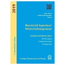 Berufsziel Ingenieur/Wirtschaftsingenieur 2019