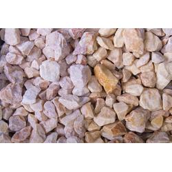 Edelsplitt Marmor Mandarin Splitt, 18-25, 30 kg Big Bag