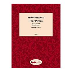 Primavera Porteña  Verano Porteño  Milonga del Angel  La Muerte del Angel  Gitarre. Astor Piazolla  - Buch