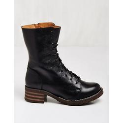 Brako Damen Leder-Stiefeletten Marga schwarz Boots