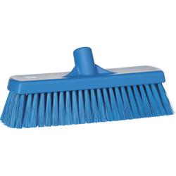 Vikan Besen, 300 mm medium, speziell zum Kehren in feuchten Bereichen, Farbe: blau