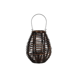 Clayre & Eef Laterne Clayre & Eef Laterne braun Holz 29 x 29 x 35 cm