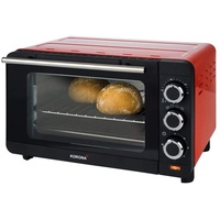 Korona 57005 Toastofen 14 Liter   Mini Ofen mit herausnehmbaren Krümelblech   kleiner Backofen