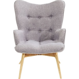 Kare Design Armchair Vicky Grey