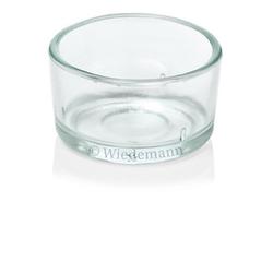 Wiedemann Kerzen Kerzenständer Glas für Teelichte, 4 Stück