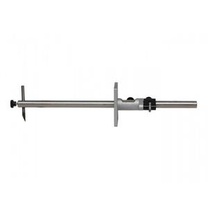 HELIOS-PREISSER 0319102 Streichmaß rund mit Feineinstellung, 300 mm