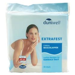 duniwell Sanft reinige Einmalwaschlappen, 30 St