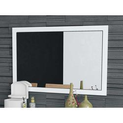 Spiegel Camina (BH 110x70 cm) weiß hochglanz