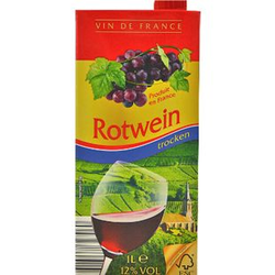 Vin de France Rotwein 12,0 % vol 1 Liter