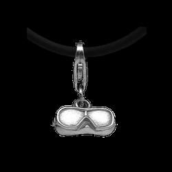 # Baruna Silber Anhänger Maske