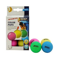 Best Sporting Tischtennisball Tischtennisbälle Colour Pops