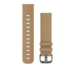 Schnellwechsel-Armbänder (20 mm) Hellbraunes Lederarmband