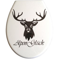 WC-Sitz »Alpenglück«, 508037-0 bunt 37 cm bunt