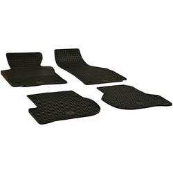 Walser Passform-Fußmatten (4 Stück), Seat Altea, Altea XL, Leon Großr.lim., Schrägheck, für Seat Leon, Seat Altea, Seat Altea XL und Seat Freetrac