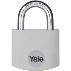 YALE YE3B/32/116/1/GR Vorhängeschloss 32mm Grau Schlüsselschloss