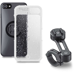 SP Connect Moto Bundle iPhone 8+/7+/6s+/6+ Smartphone Mount, black, Größe One Size