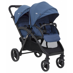 Twin Kinderwagen Joie Evalite Duo Deep Sea