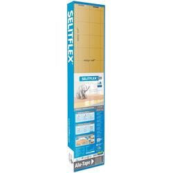 SELIT Trittschalldämmung SELITFLEX, für Fußbodenheizung geeignet weiß 1,2 x 15 m