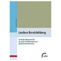 Lexikon Berufsbildung - Buch
