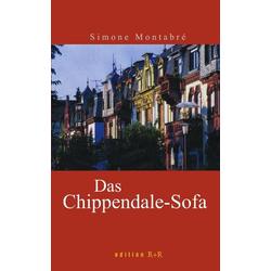Das Chippendale-Sofa als Buch von Simone Montabre