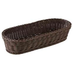 APS 50823 Baguette Korb, oval 40 x 16 cm, H: 8 cm