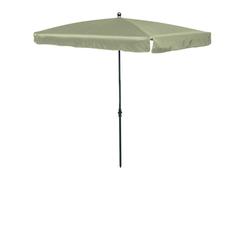 Madison LEROS Sonnenschirm Gartenschirm 210x140cm natur/ecru