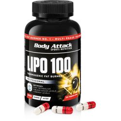 Body Attack Lipo 100 (120 Kapsel)