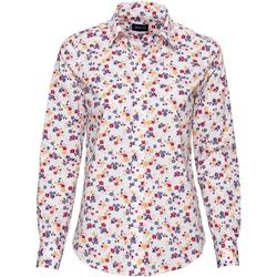Gant Druckbluse Bluse mit Streublumen weiß 40